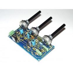 Kit Control de tono de micrófono para consola mezcladora microfónica