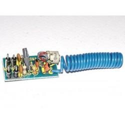 Kit electrónico para montar un transmisor de escucha telefónica