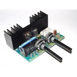 Kit electrónico para montar un regulador de velocidad para taladros