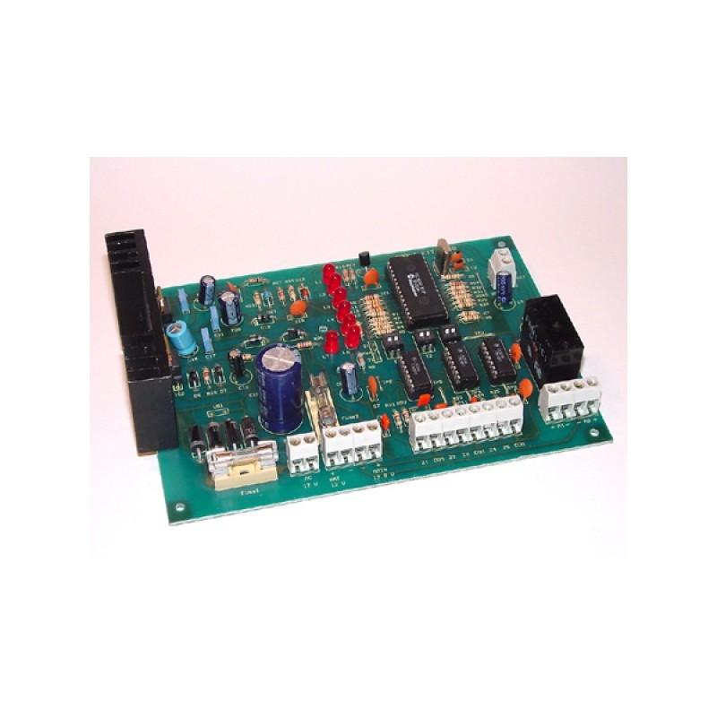 Kit electrónico para montar un sistema de alarma 5 zonas independiente