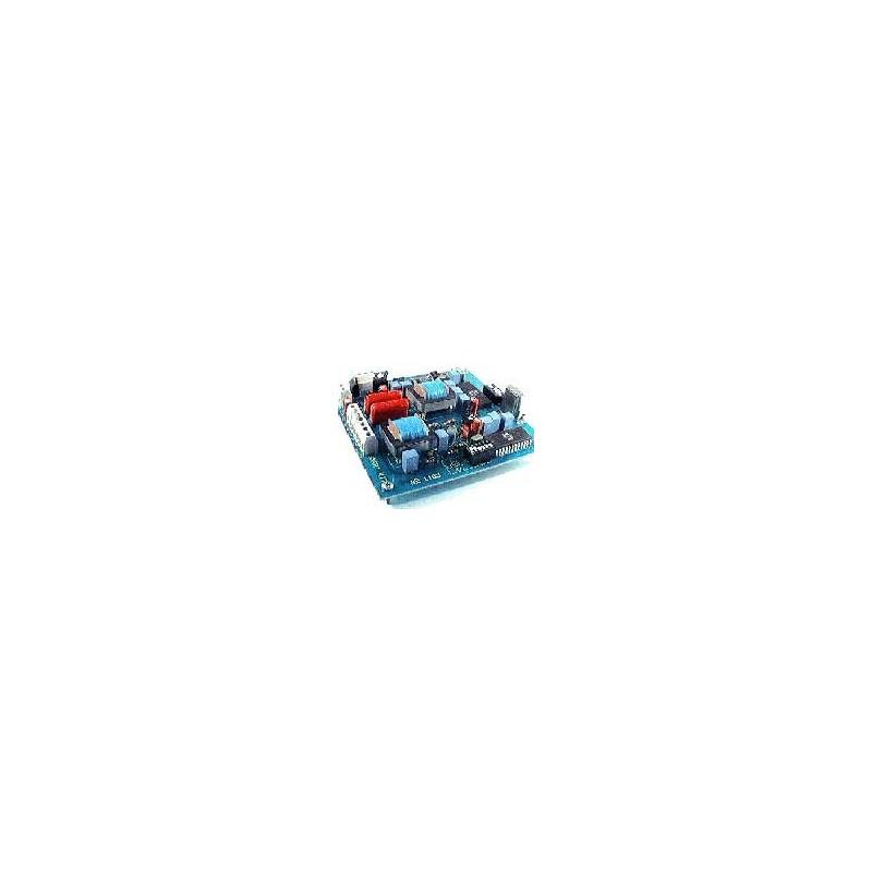 Kit electrónico para montar un codificador - decodificador de audio