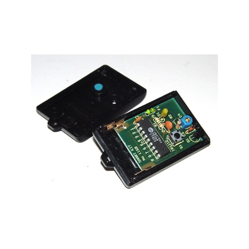 Kit electrónico para montar un control remoto (transmisor)