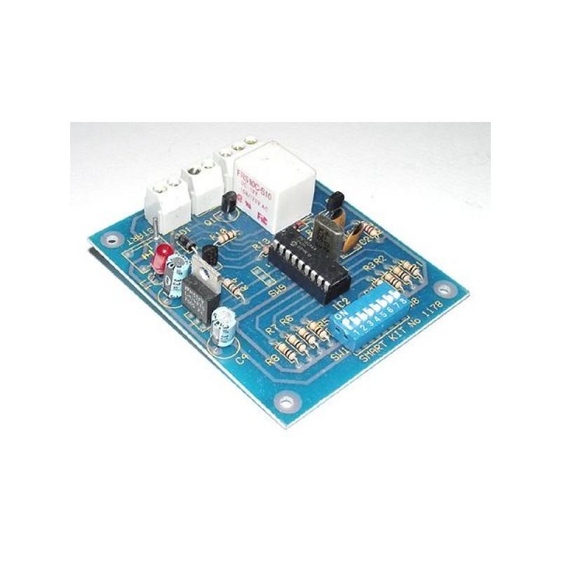 Kit electrónico para montar un reloj de precisión de hasta 256 minutos
