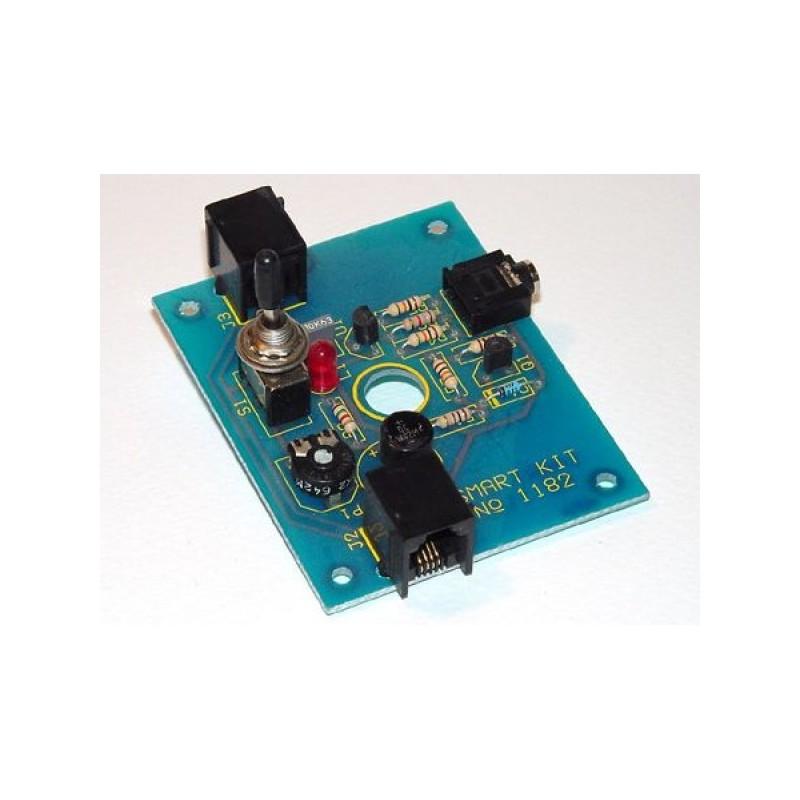 Kit para montar un circuito de música en espera para el teléfono fijo