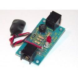 Kit electrónico para montar un indicador de línea telefónica en uso