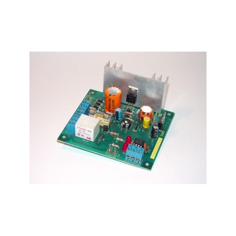 Kit electrónico para montar un sistema de alarma de seguridad 2 zonas