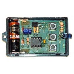 Transmisor por infrarrojo de tres canales