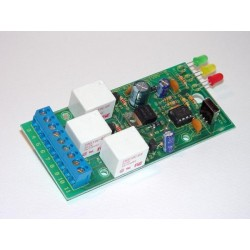 Kit electrónico para montar un receptor de infrarrojos de tres canales