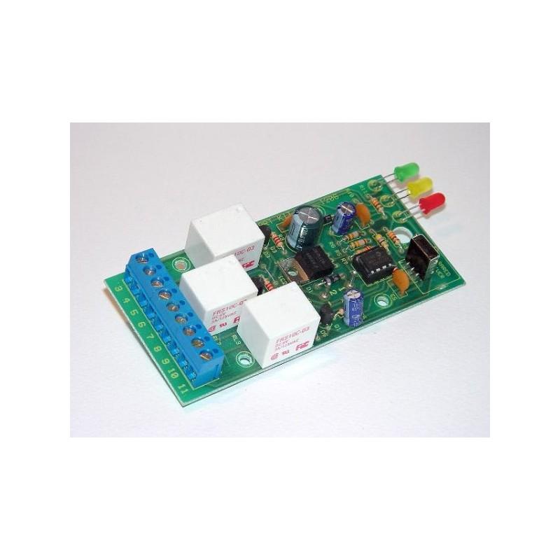 Receptor de infrarrojos de tres canales
