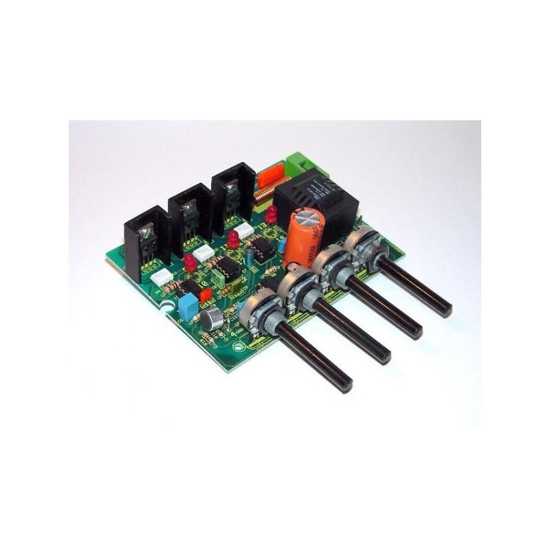 Kit electrónico para montar un modulador de radio de 3 canales 12 V CC