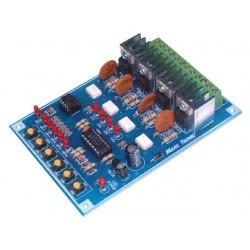 Luz de funcionamiento de 4 canales 4000 W 32 programas 10 programables
