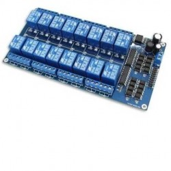 Módulo relé 5VDC de 16 canales para Arduino/Funduino