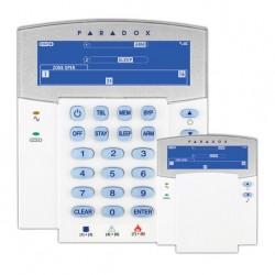 Teclado de alarma Paradox K35 LCD con iconos, 3 alarmas y anti tamper