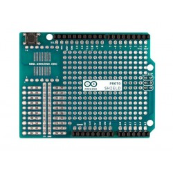 Arduino Original Proto Shield Rev 3 Montado