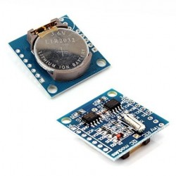 Módulo reloj DS1307 I2C/24C32 para Arduino