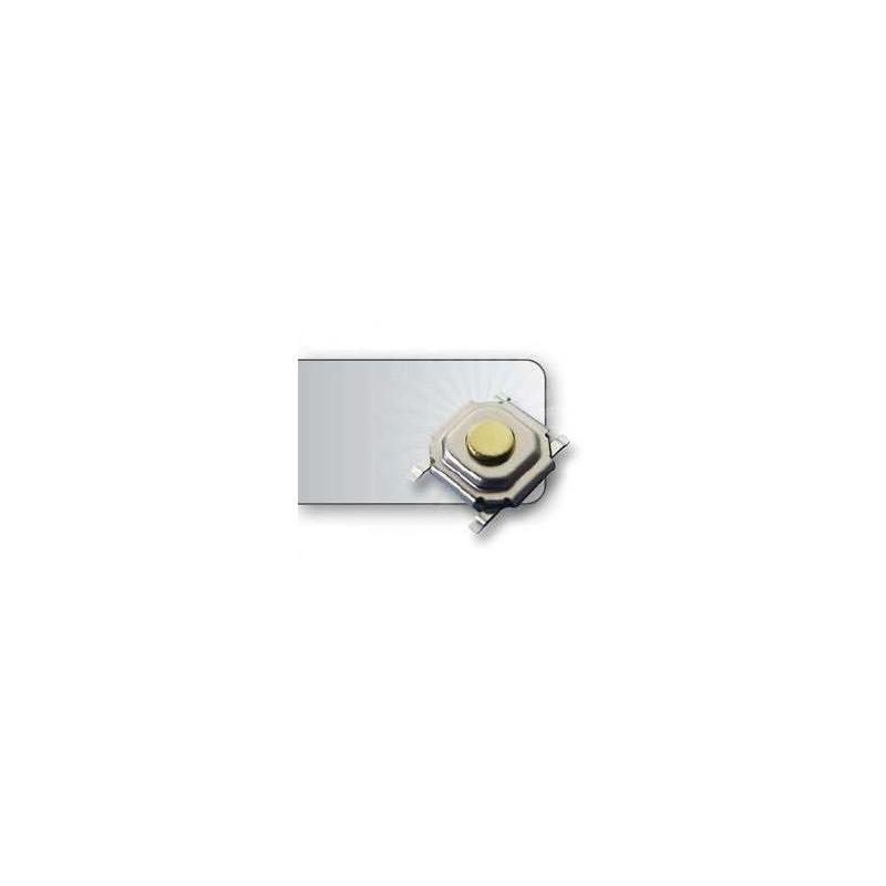 Micro pulsador SMD 5.2X5.2MM 4 patillas (L:1.5mm)