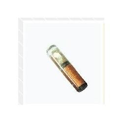 Tag cilíndrica de cristal miniatura