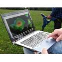 Rover C4 - Detector de oro y metales con 3D, órbita LED y Tablet PC