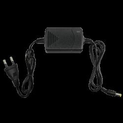Alimentador Electrónico Estabilizado en Miniatura + cable alargador 12 V / 1500 mA.