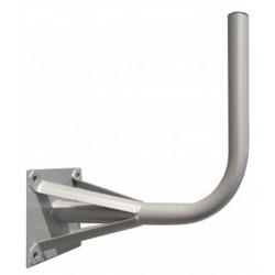 Soporte en L ø 60 mm reforzado acero galvanizado para antenas de 120cm