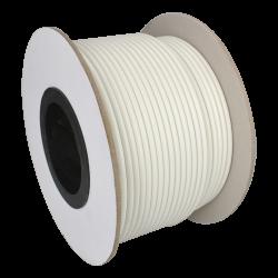 Bobina de 100 Metros de Cable Coaxial RG59 para CCTV. Color Blanco