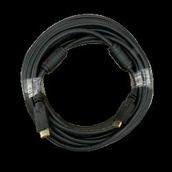 Cable HDMI macho con ferritas anti-interferencia 10 metros color negro