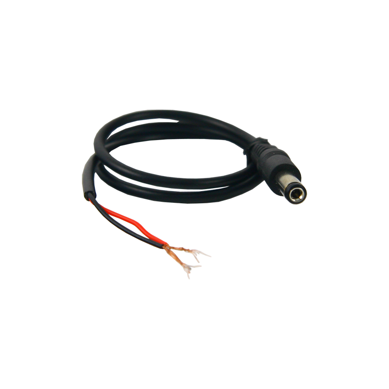 Conector de alimentación hembra para soldar válido para cámaras CCTV