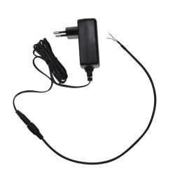 Conector de alimentación macho para soldar compatible con cámaras CCTV