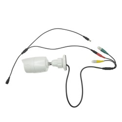 Distribuidor de alimentación válido para 2 cámaras de vigilancia CCTV