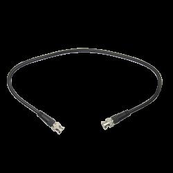 Cable coaxial preparado de 50 centímetros. Conexión Balun hembra a DVR