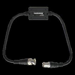 Aislador de bucle de tierra optimizado para transmisión de vídeo HD