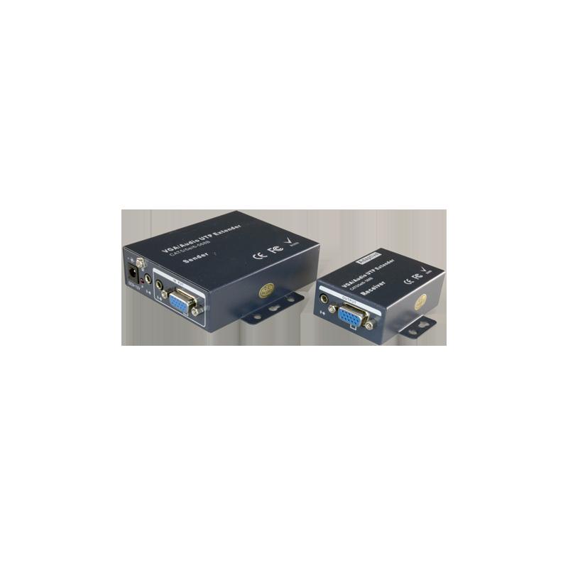 Extensor de señal VGA/Audio por UTP categoría 5/5e/6