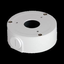 Caja de conexiones para cámaras domo, instalación en techo o pared, exterior