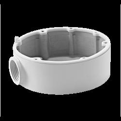 Caja de conexiones para cámaras domo para instalación en techo o pared