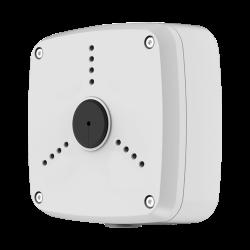 Caja de conexiones para cámaras compactas o domo, apta para exterior