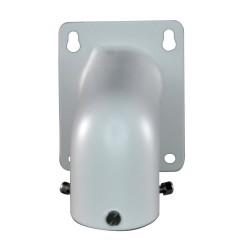 Soporte de pared para cámaras domo apto para uso en exterior. Blanco.