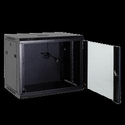 """Armario rack para instalación en pared. Capacidad para 4U rack de 19""""."""