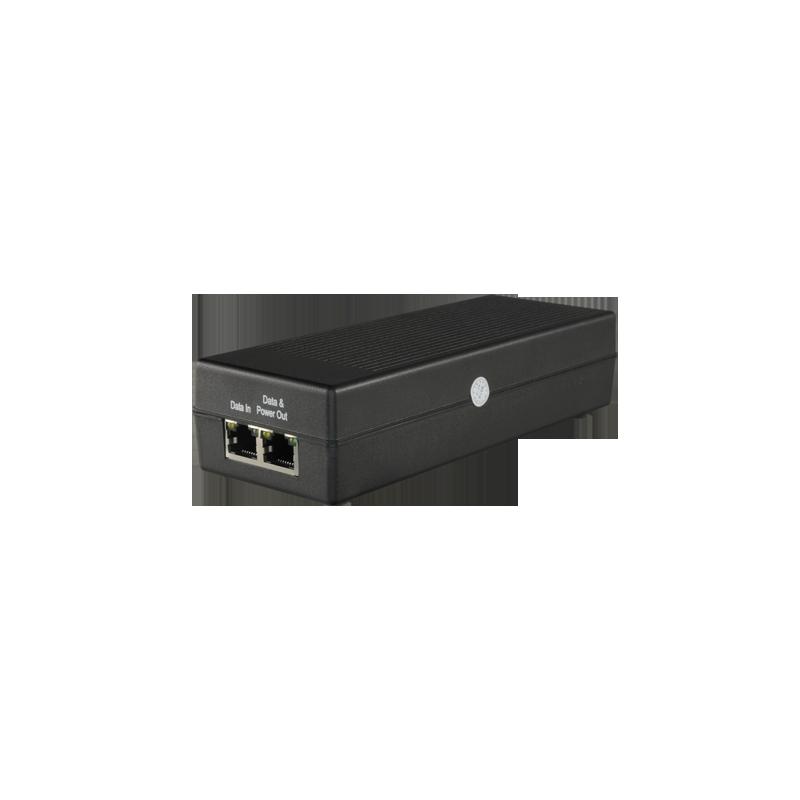 Inyector PoE Entrada/Salida RJ45 10/100/1000 Mbps 30 W Distancia 100 M