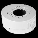 Caja de conexiones de techo o pared para cámaras tipo domo de exterior