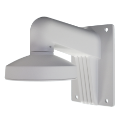 Soporte de pared para cámaras de seguridad domo para exteriores blanco