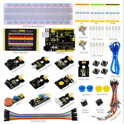 Kit básico de aprendizaje con Arduino UNO R3 Compatible y 19 proyectos