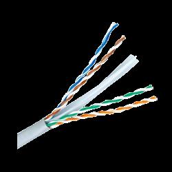 Bobina de 305 metros de cable UTP Cat 6 compatible con baluns