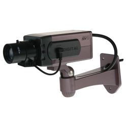Camara de vigilancia simulada no operativa