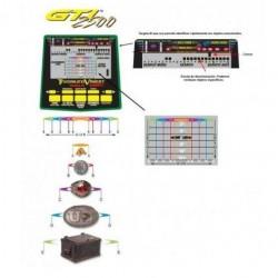 Detector de metales Garret GTI 2500 ProPackage. 6 programas de búsqueda