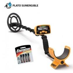 Detector de metales Garrett Ace 250 Sport Pack. 5 modos de búsqueda