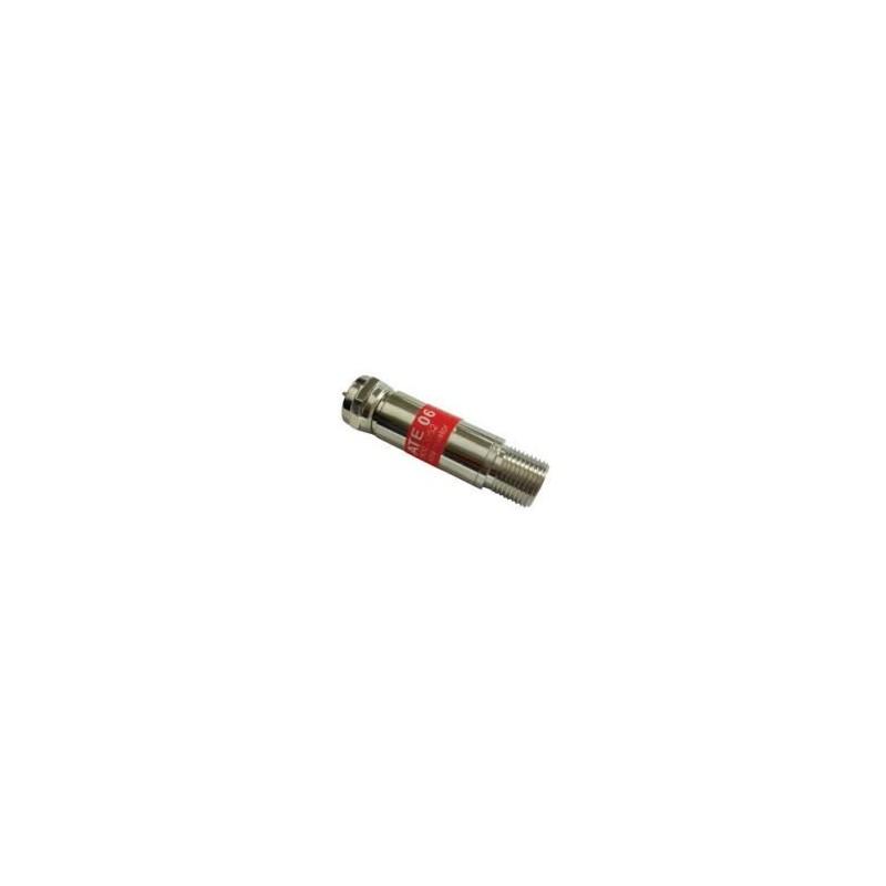 Atenuador variable con conector F