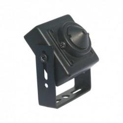 Mini cámara espía cableada, carcasa metálica, 600 líneas 0.3 LUX 3.7 MM