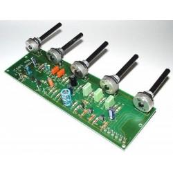 Kit para montar un preamplificador mezclador dotado de 3 entradas mono