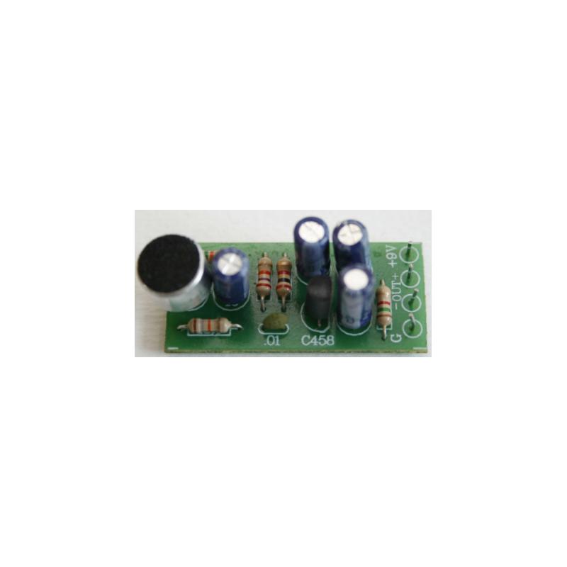 Kit electrónico para montar un Circuito condensador y Preamplificador