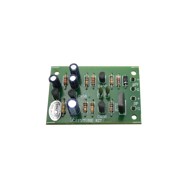 Kit electrónico para montar una Sirena Profesional para emergencias